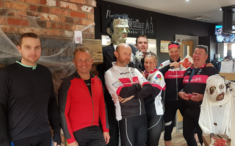 Red Club ride to Barnburgh Lakes