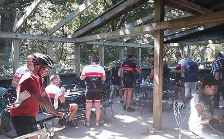 Club ride to Sherwood Forest